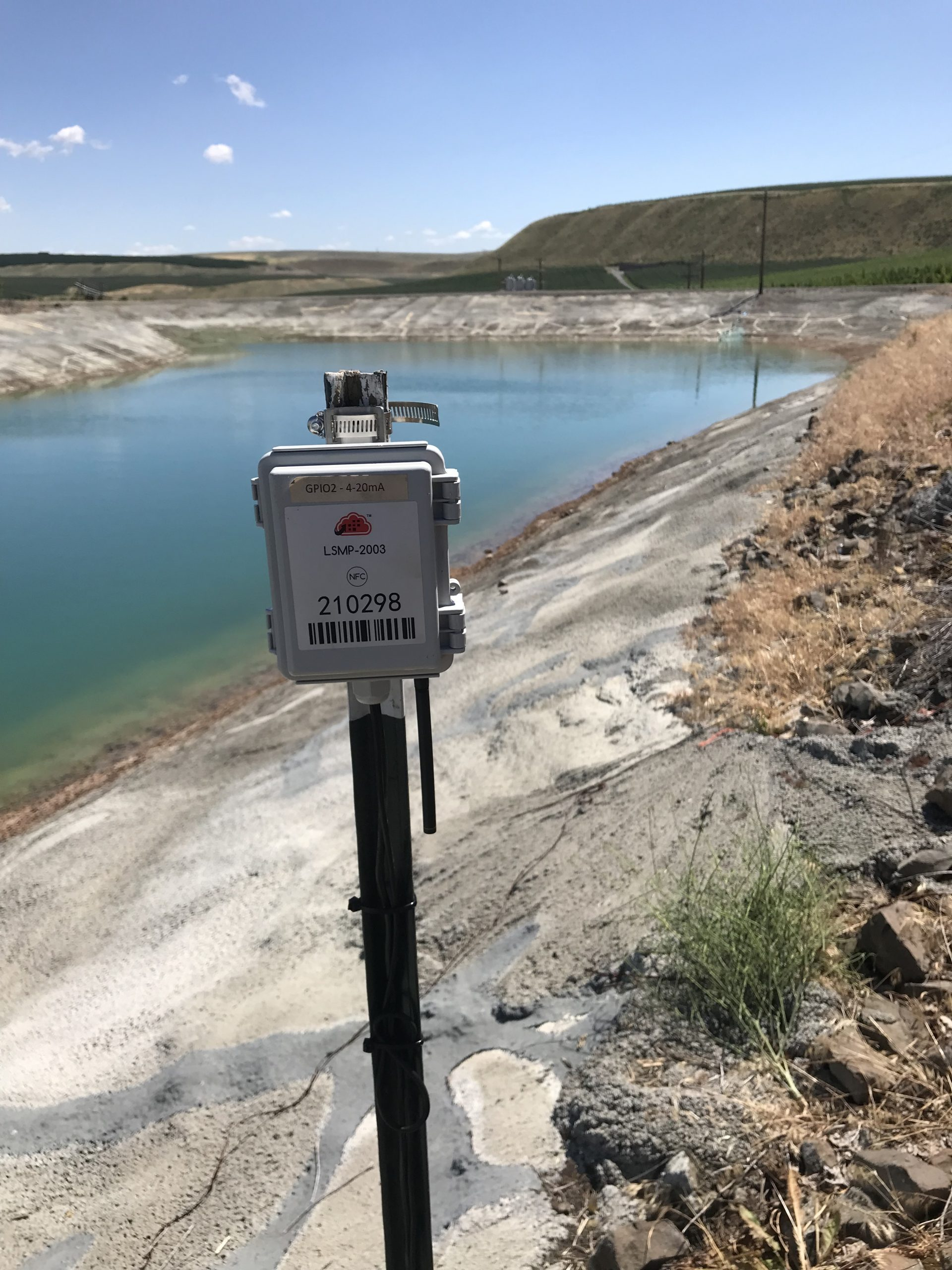Zenseio Pond Level Monitoring