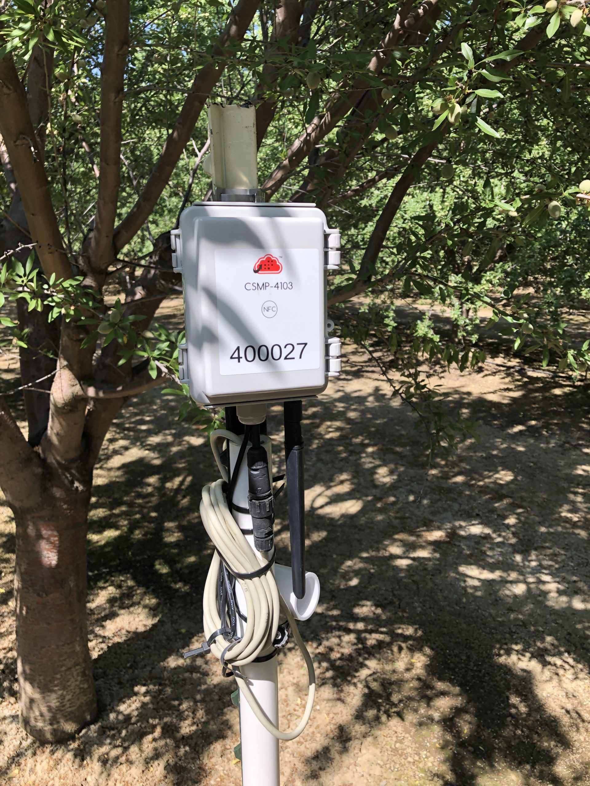 Zenseio Orchard Soil Moisture Monitoring